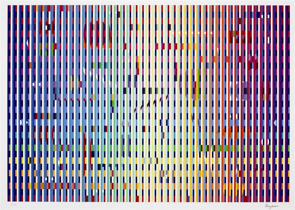 """""""Rainbow Bright"""" (2006), Yaacov Agam"""