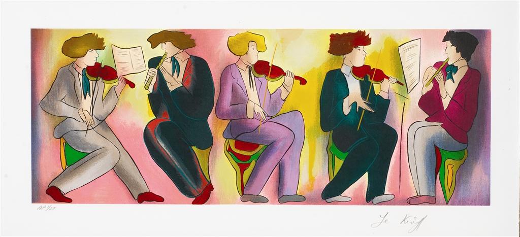 """""""4 Hommes Romantiques"""" (2011), Linda Le Kinff"""