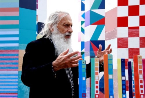 "Yaacov Agam. ""Peaceful Communication with the World."" 2009 World Games."