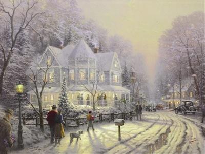 Thomas Kinkade Holiday