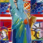 9/11 series, peter max, park west gallery