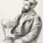 """Louis Valtat (Delteil; Stella 38)"" (1919) by Pierre-Auguste Renoir. Park West Gallery Collection."