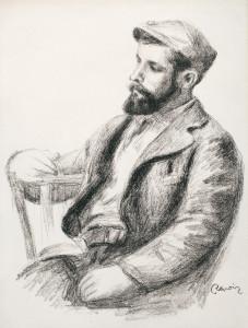 """Louis Valtat (Delteil; Stella 38)"" (1919) by Pierre-Auguste Renoir. Park West Gallery Collection."