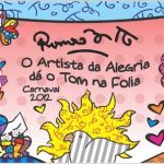 romero britto carnaval brazil 2012, park west gallery