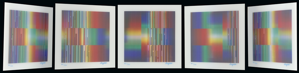 """Perfect Disorder"" (2017), Yaacov Agam"