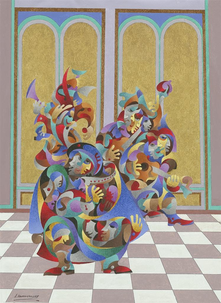 """""""Golden Sound"""" (2014), Anatole Krasnyansky"""