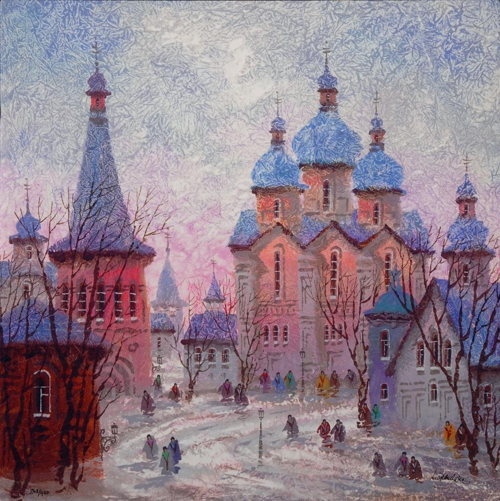 """Russia Red Sunset"" (2016), Anatole Krasnyansky"