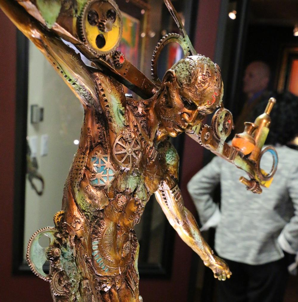 Milgrom VIP - Nano Lopez sculpture - Park West Gallery-14