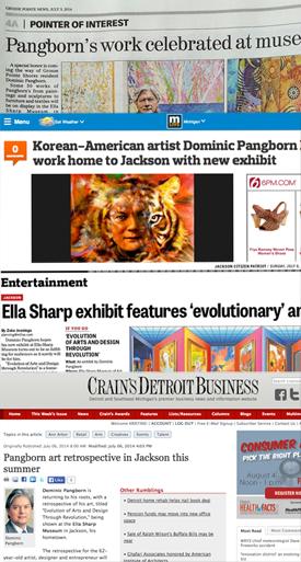 Pangborn Press for Ella Sharp Museum Exhibit