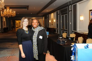 Lacea Zavala, recipient of Child Advocate of the Year Award and Park West Foundation Director, Saba Gebrai