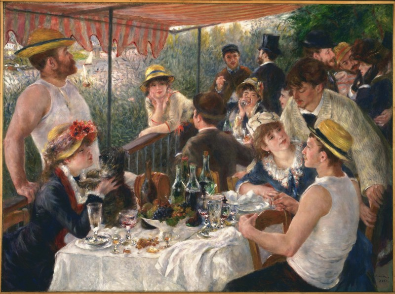Pierre-Auguste_Renoir - Luncheon of the Boating_Party
