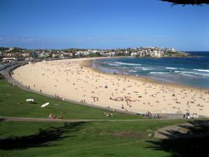 Bondi Beach, Australia; photo courtesy of wikipedia.org