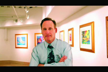 Albert Scaglione, CEO and founder of Park West Gallery