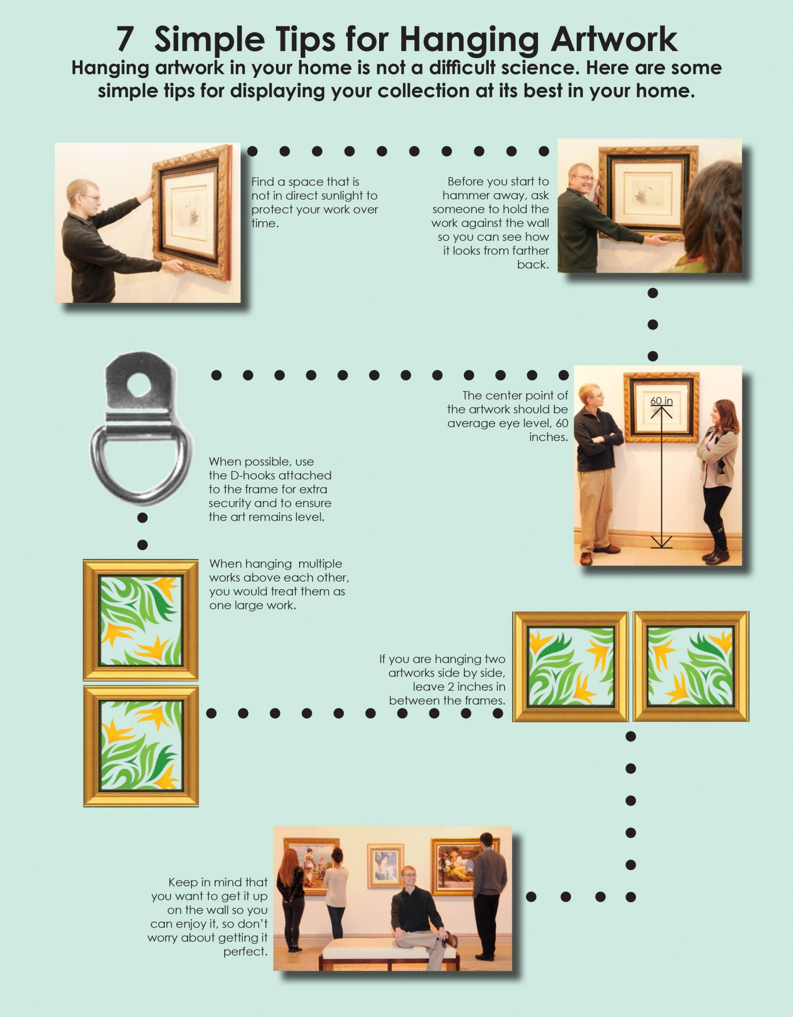 7 Simple Tips For Hanging Artwork