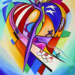 Alfred Gockel USOC Olympic Celebration Poster