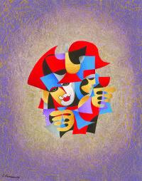 """Wine for Three"" by Anatole Krasnyansky"