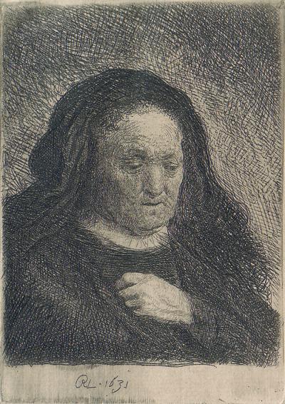 Rembrandt mother