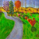 Autumn de Forest Dripping Heart I