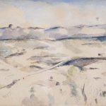 Cezanne The Chaine de l'Etoile Mountains
