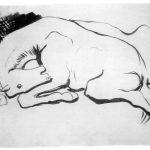 Pablo Picasso sketch horse