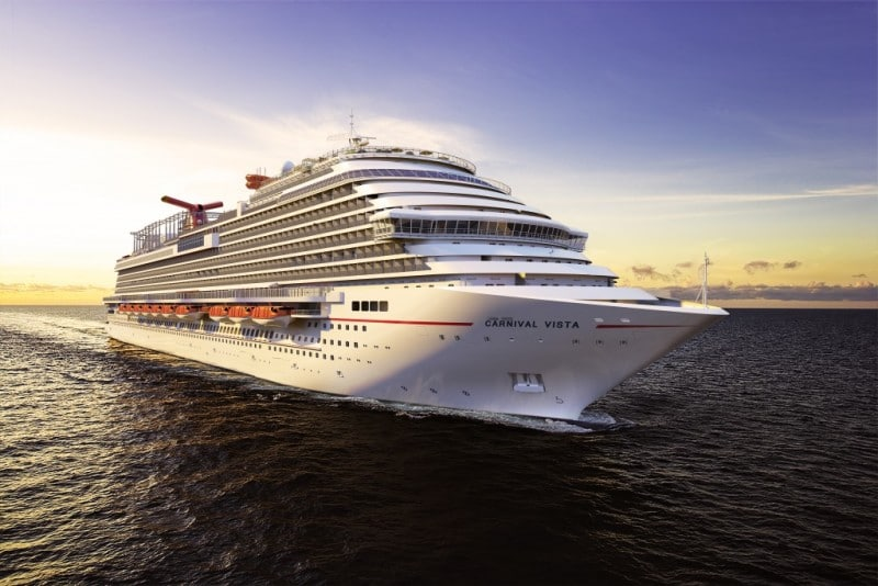 Carnival Vista cruise lines