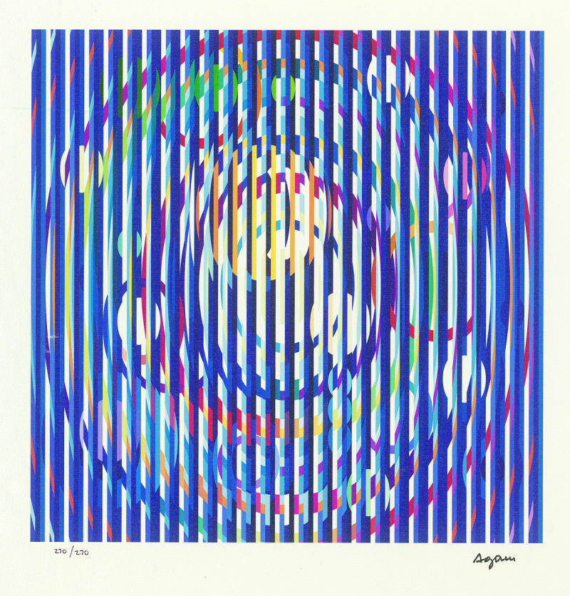 Yaacov Agam World Art Day