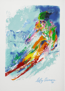 World Class Skier by Leroy Neiman