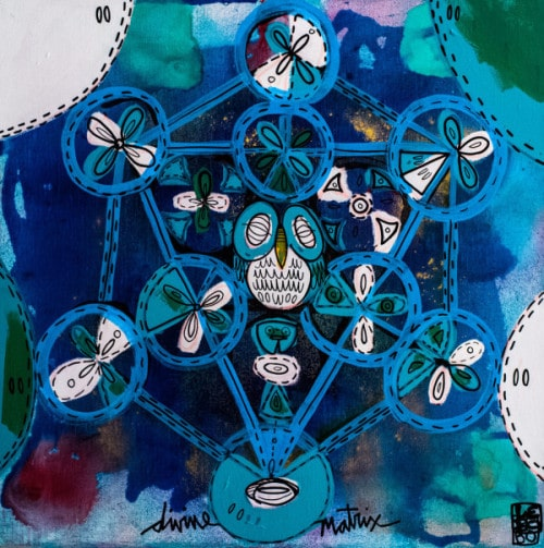 """""""Divine Matrix"""" (2015), Lebo"""