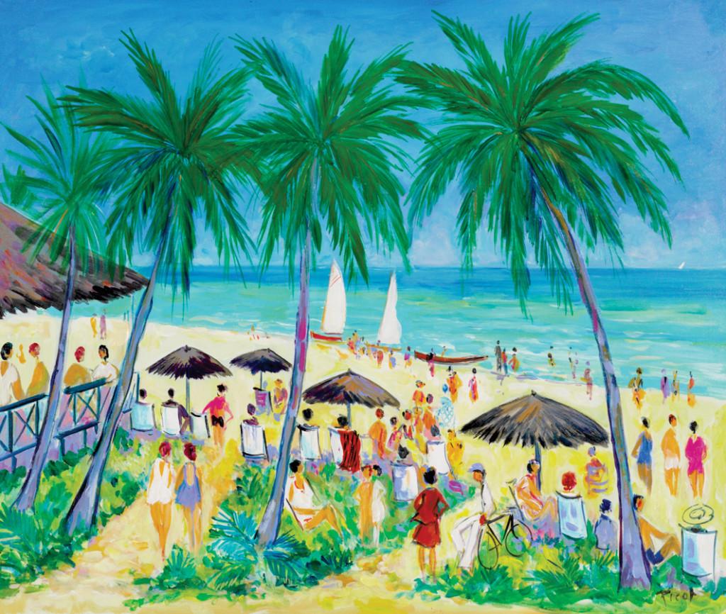 Plage a Cuba Jean-Claude Picot Cuba cruise
