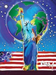 Peter Max 9/11 art