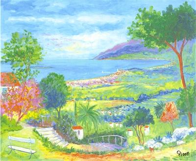 """""""L' Escalier du Jardin"""" (2004), Jean-Claude Picot"""
