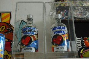 Romero Britto absolut