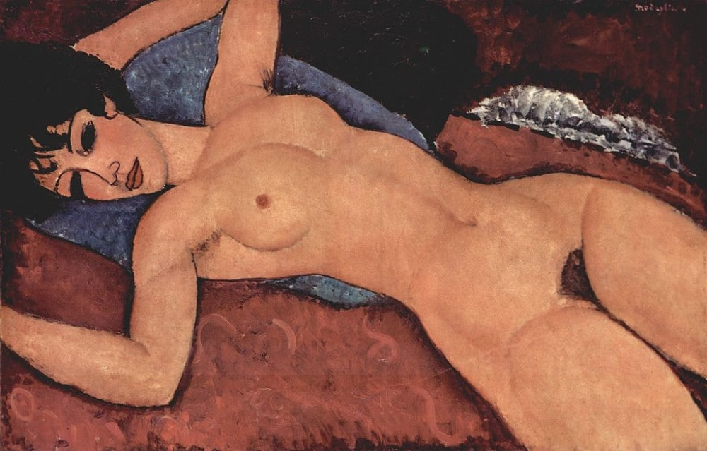 Amedeo_Modigliani_Reclining Nude