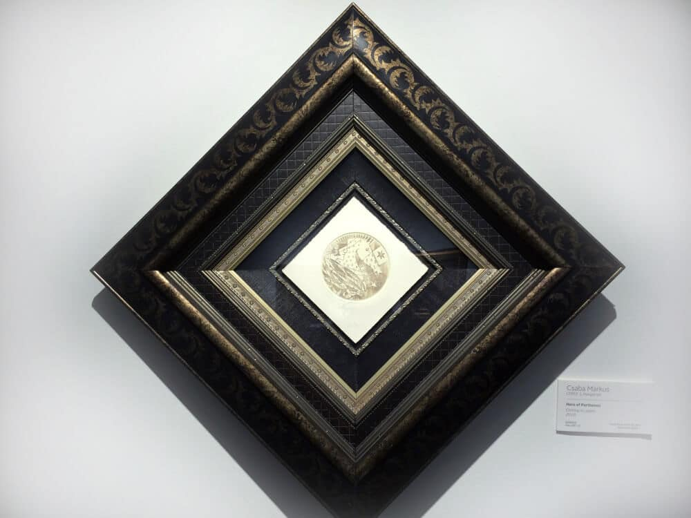 framing art