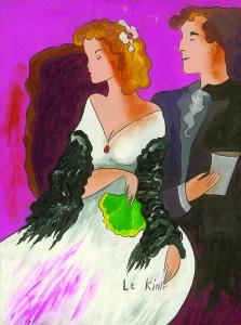 """""""Elegant Evening"""" (2006), Linda Le Kinff"""