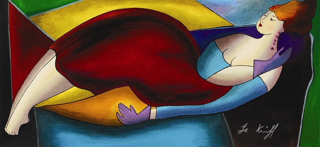 """Sandrina"" (2003), Linda Le Kinff"