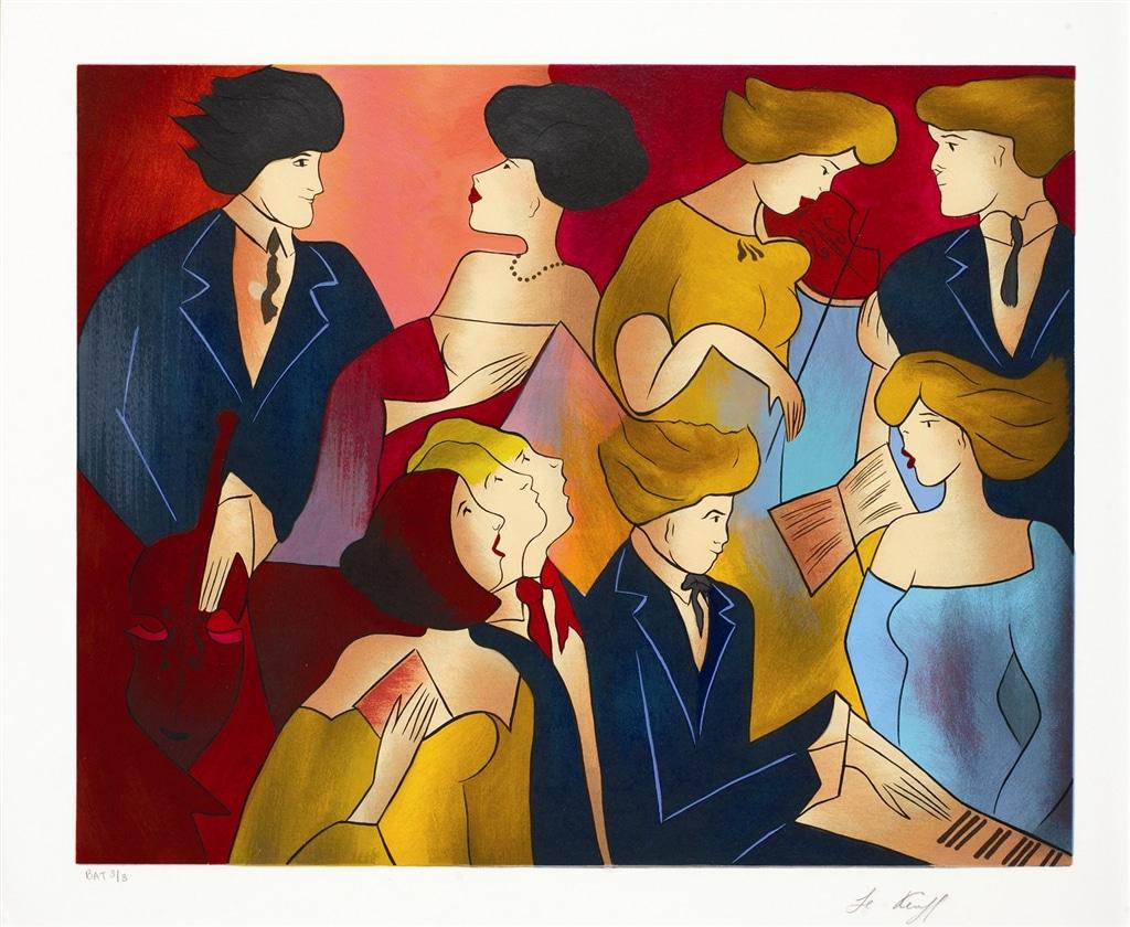 """Fortissimo II"" (2010), Linda Le Kinff"