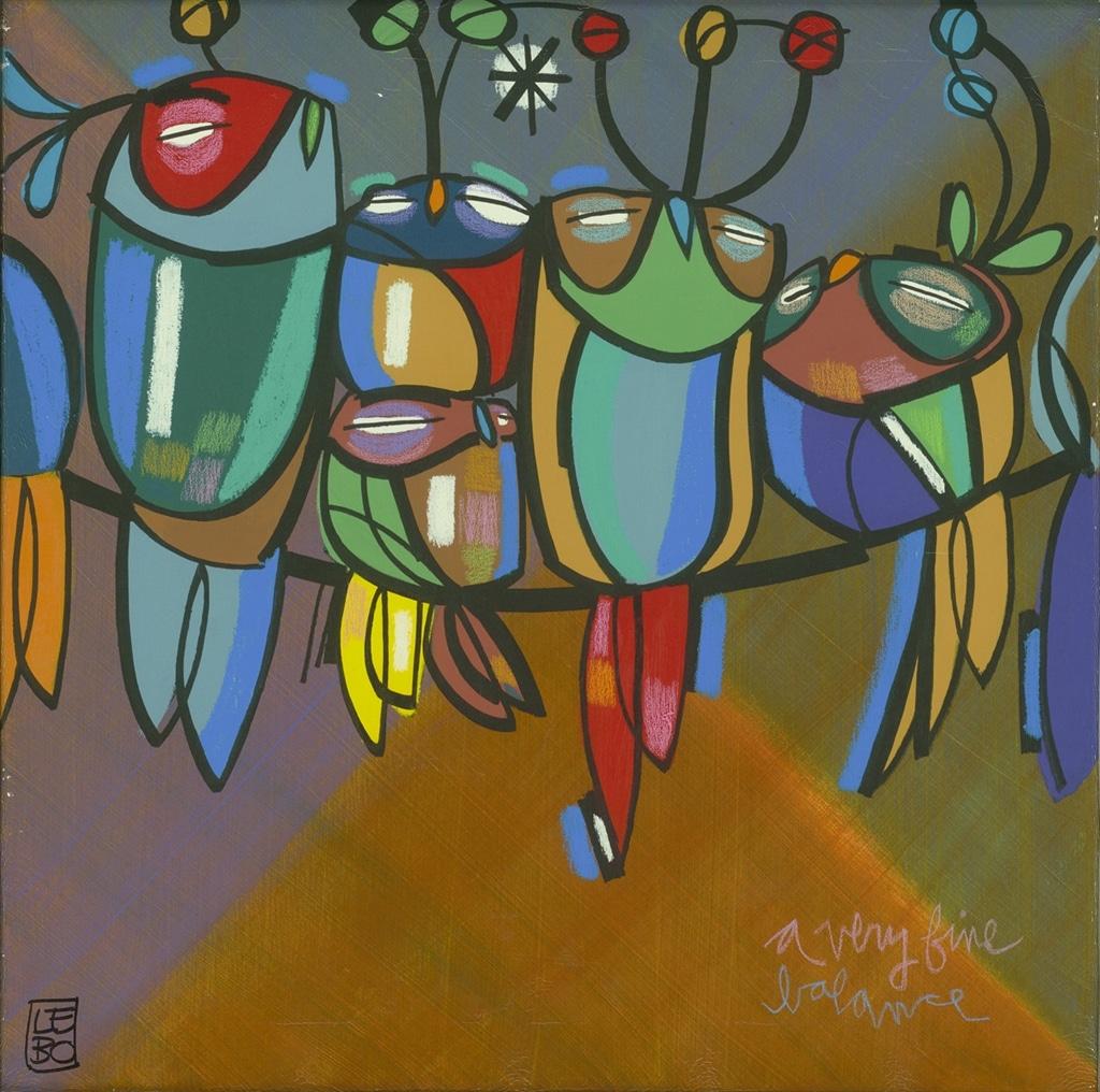 """A Very Fine Balance"" (2015), Lebo"