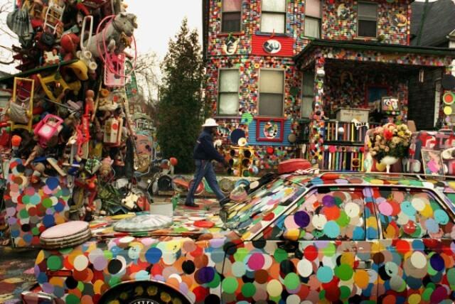 Heidelberg Project (Photo courtesy of Heidelberg.org)