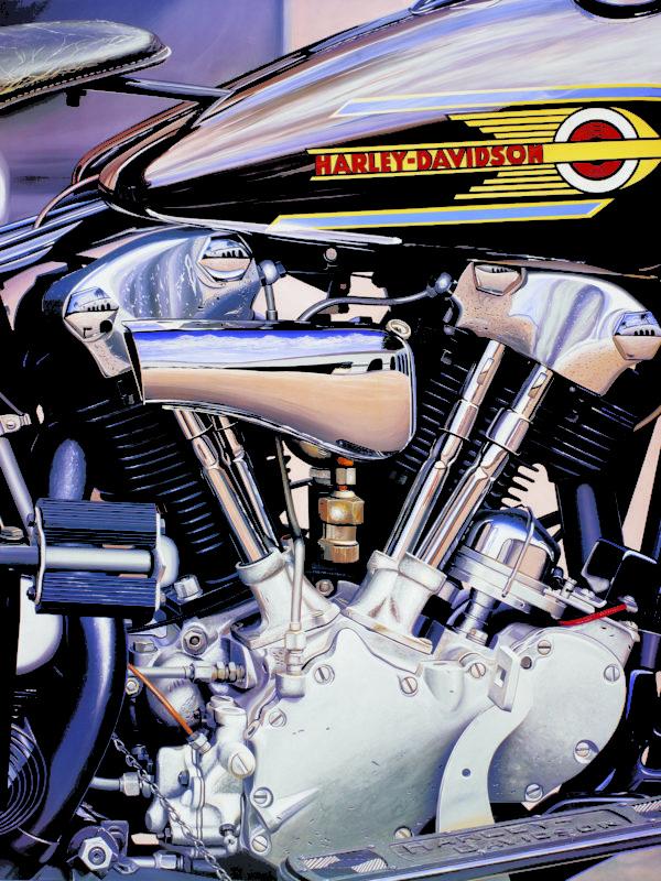 Scott Jacobs motorcycle art