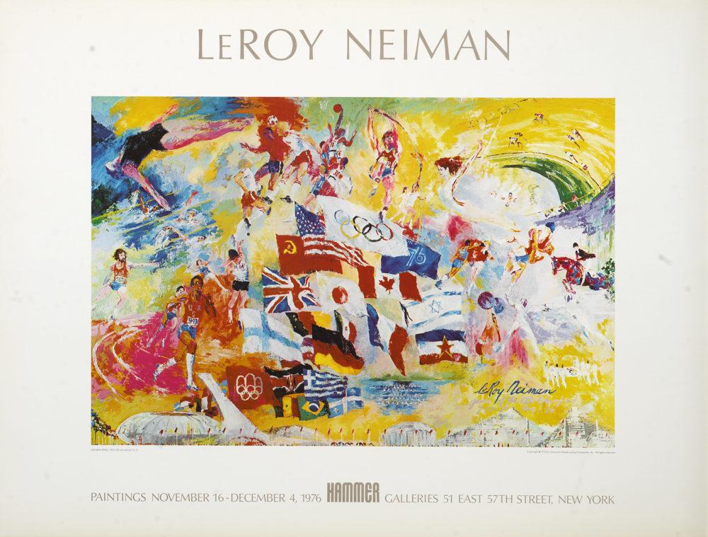 LeRoy Neiman Olympic artist
