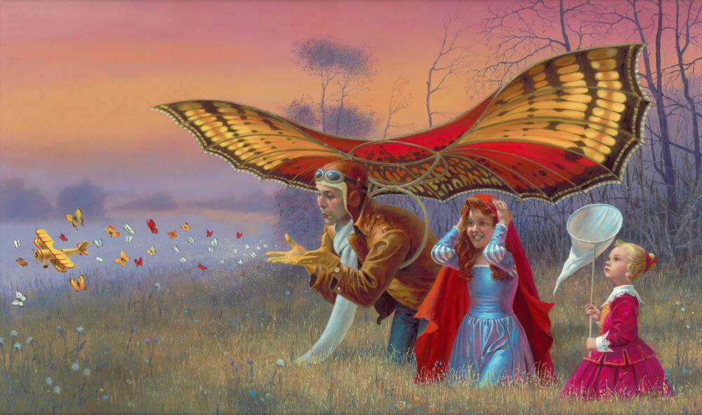 """Promises of the Parting Summer"" (2016), Michael Cheval"