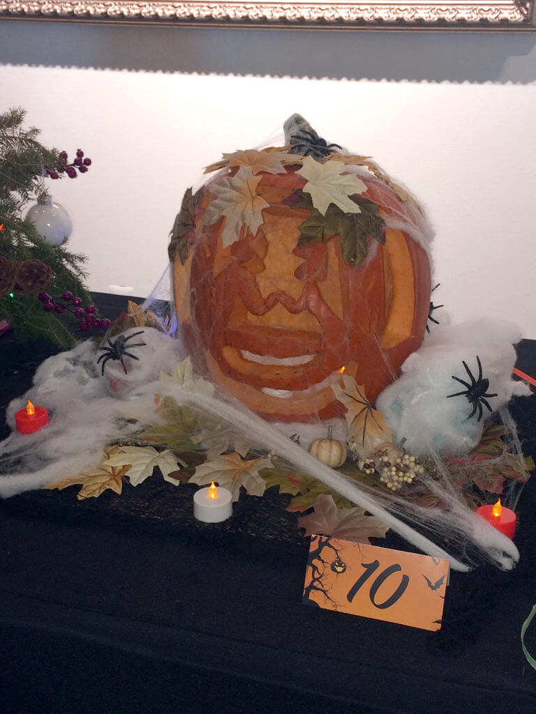 Park West Gallery pumpkin contest 2016 Cinderella