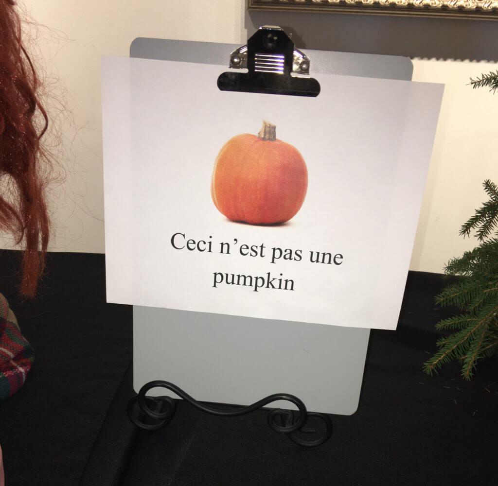Park West Gallery pumpkin contest 2016 Ron Magritte