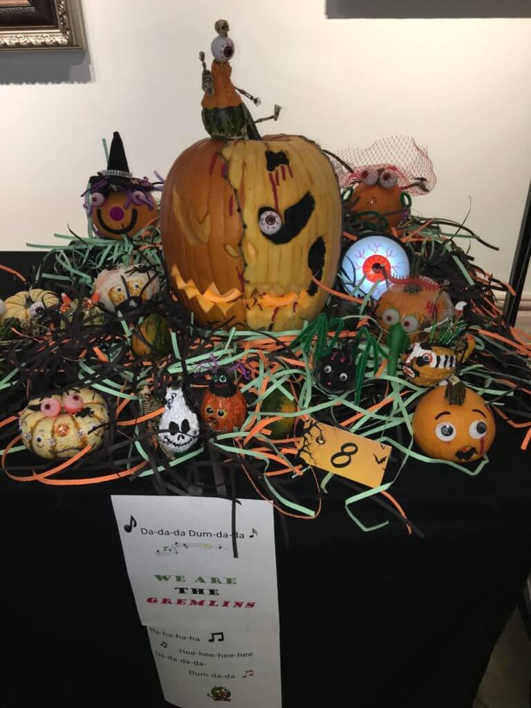 Park West Gallery pumpkin contest 2016 gremlins