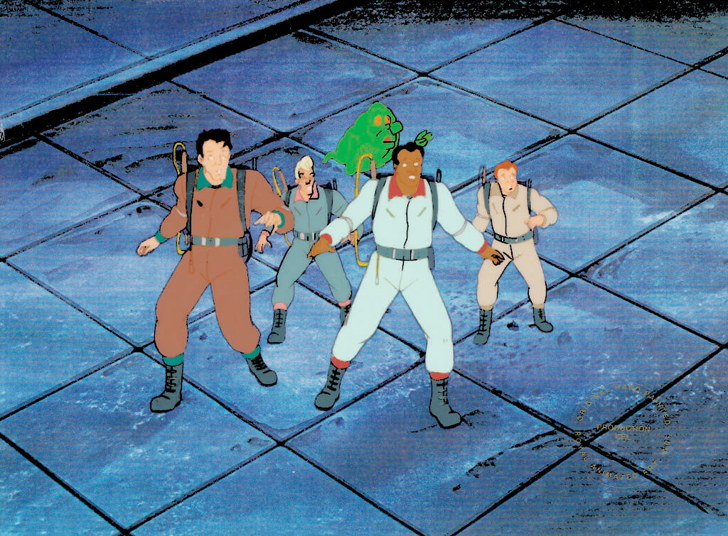 """Ghostbusters: The Team"" (1986) Columbia Pictures Television"