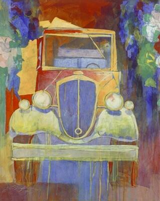 """Summer Drive"" (2016), Yuval Wolfson"