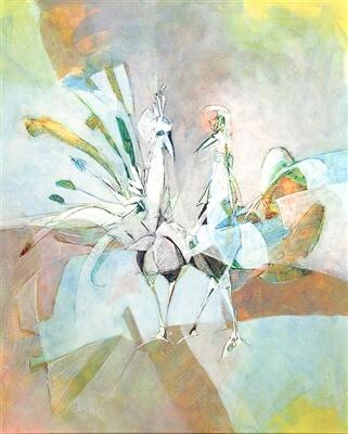 """Dancing Birds"" (2016), Yuval Wolfson"