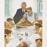 Norman Rockwell Freedom from Want Park West Gallery