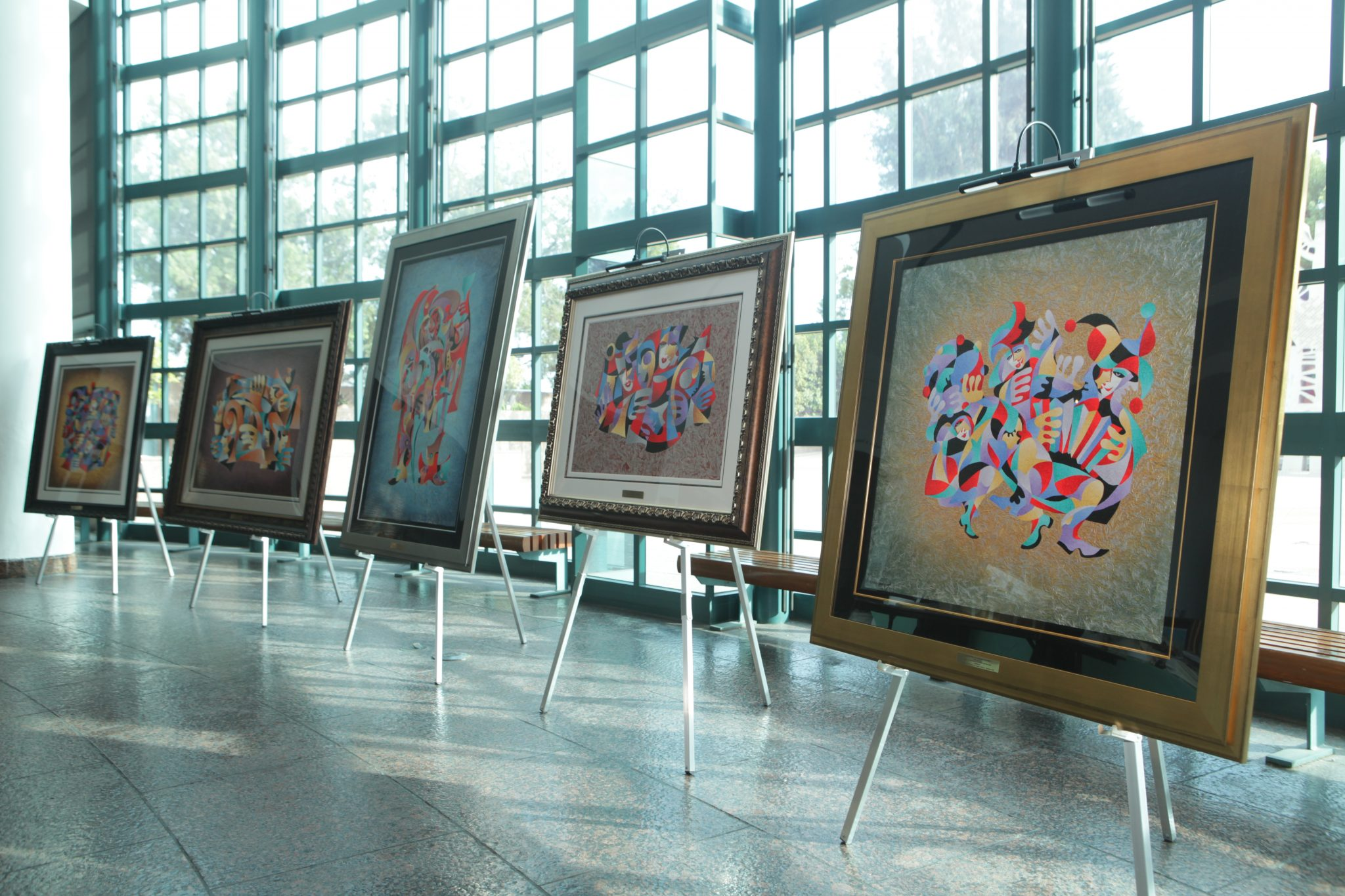 Antaole Krasnyansky artwork on display at Museum of Tolerance